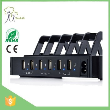 High quality Wholesale multi usb 6 port station charging stand for iphone