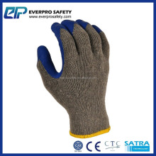 Men Work Wrinkle Cotton Lined Latex Gloves With EN 388