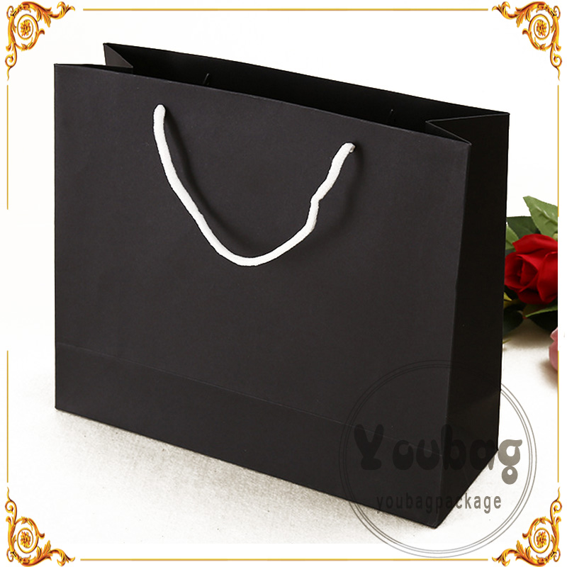 Hot Sale craft packaging 3d christmas bag door paper gift bags