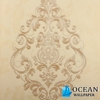 classic european non-woven damask stripe wallpaper made in China