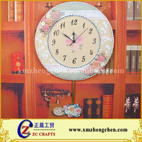Promotional round digital wall clock price