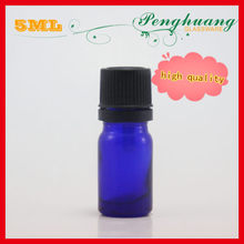 Glass essential oil Dropper bottle 5ml with child proof closure