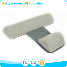 Colorful 100% Polyester Breathable Memory Foam Baby Sleep Positioner Bolster Bassinet Pillow