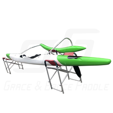 GB HIGH quality Fiberglass Outrigger Canoe