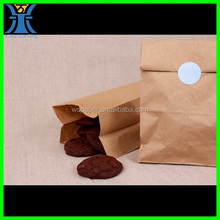 Yiwu New Arrived Cheap Unique brown blank no handle Paper bags for cookies