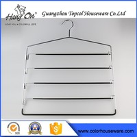 Daily Used Clothes Wire Hanger Cabinet , Metal Coat Wire Hanger With Pvc Coat