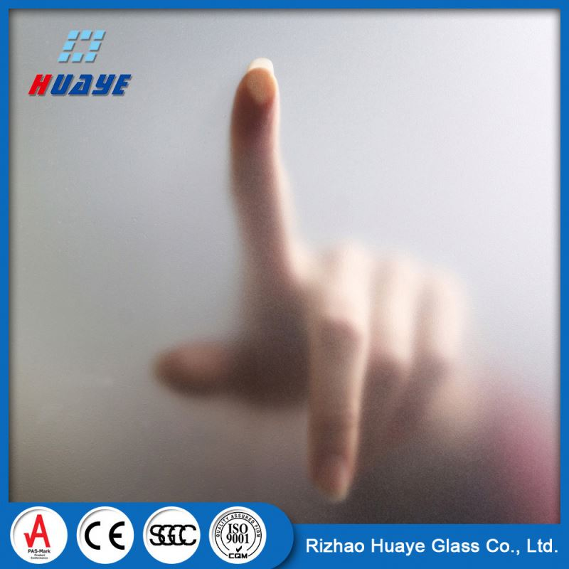 Eco-Friendly Exporter 4mm frosted glass price for partition
