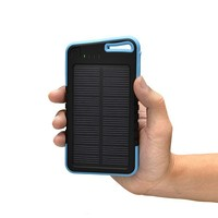 Hot sell 5000mah Solar charger LED Indicator Solar Cell phone Charger