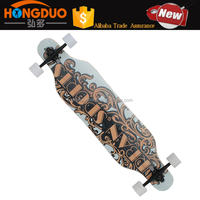 Wholesale long board ,canadian material skateboard