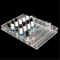 Clear Pegboard Nail Polish Tray C0601107