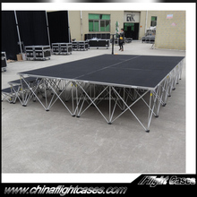 Building a Portable Stage with Optional Platforms and Risers