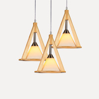 dining room wooden pendant lamp