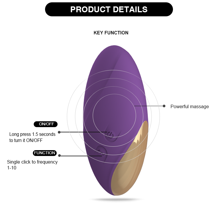 Powerful Female Vagina Vibrator Eggs for Sex Toys