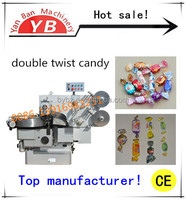 YB-600S Automatic Double Twist Candy Wrapper Packing Machine / 0086-13916983251