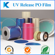 UV release PO film for wafer/sensor easy to pick up