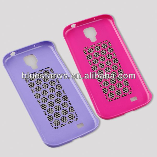 PC+Metal Case For Samsung Galaxy S4 Protector Shell cover for samsung galaxy s4