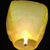 No Fire Colorful Wishing Balloons Sky Lantern