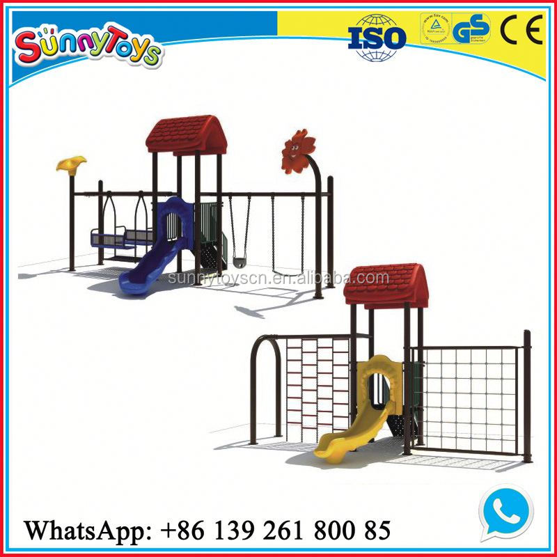 Daycare playground slide equipment day care furniture for nursery school
