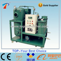 Series TY unqualified waste turbine oil purification treatment machine