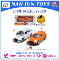 2016 popular metal sports car toys for Wholesale