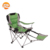 Outdoor foldable camping chair with cup holder