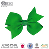 Free shipping by wholesale fashion cheap big kids handmade Grosgrain Ribbon bow