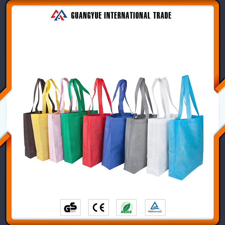 Guangyue Quality Products PP Hot Welded Integrated Personalized Shopping Bag Non Woven