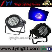 waterproof par lights 36*3W uv-color light par cans