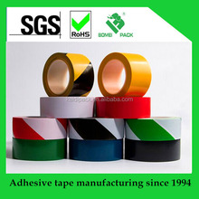 LDPE red and white plastic safety warning tape-- Safety Tape