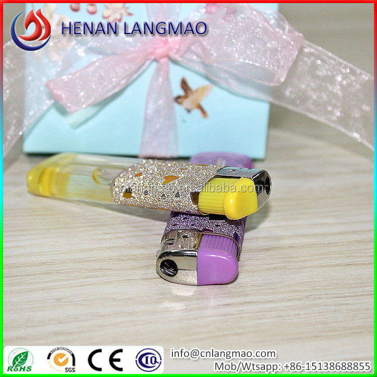 Semi-coating surface cheap custom lighter sticker