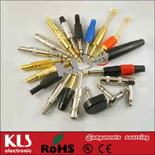 Good quality 2.5mm headphone jack dust plug UL CE ROHS 199 KLS