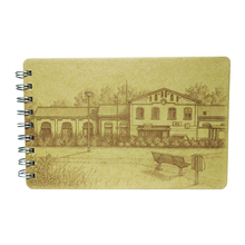 fashion design vintage sketch style a6 college notebook