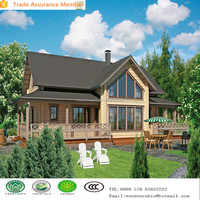 Eco-Friendly Leisure Prefabricated Wooden House