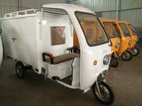 express mail delivery electric tricycle express cargo with closed body