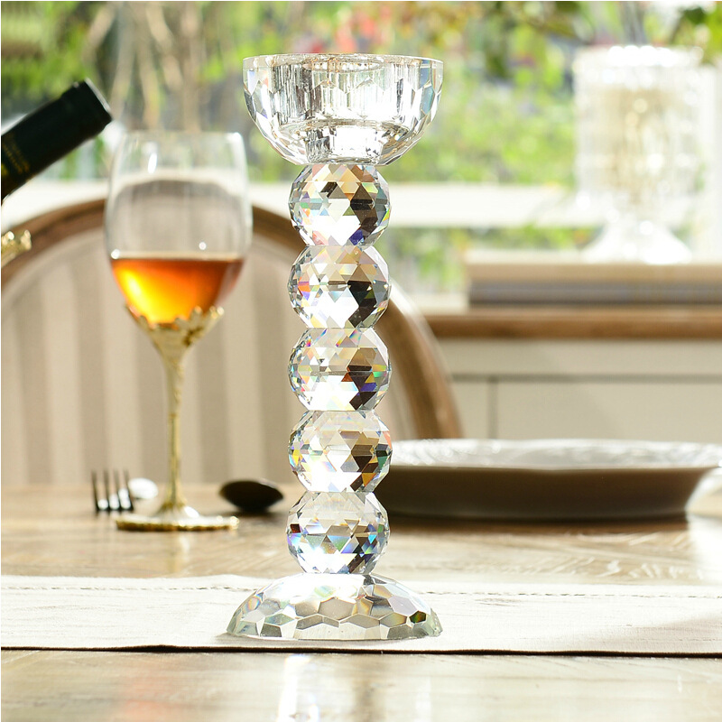 High end glass votive candle holders antique clear votive candle holder for wedding