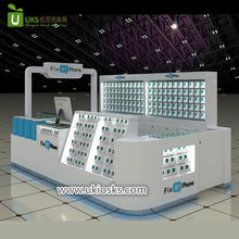 Australia hot sale cell phone accessories kiosk , phone repair kiosk design for sale