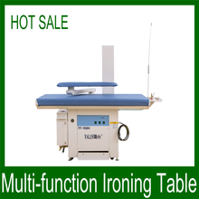 New design industrial vacuum ironing table/bed sheets ironing machine with high quality