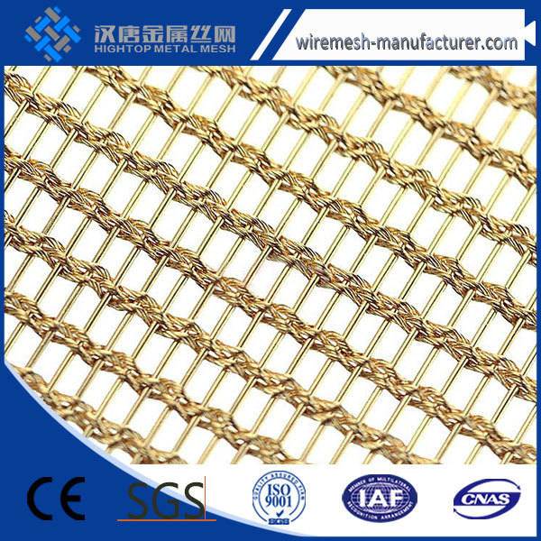 decorative aluminum alloy metal wire mesh shade screen for partition made in china