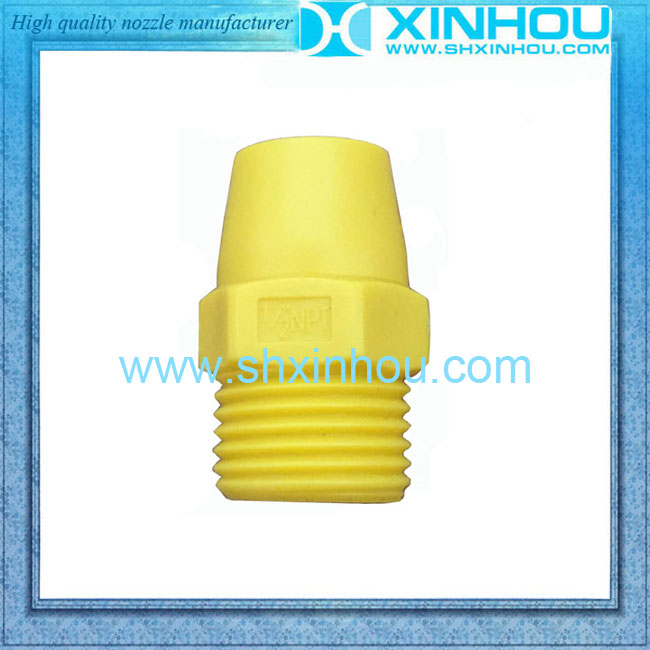 PVC full cone spray yellow mist system nozzle