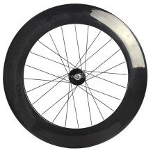 88mm Clincher Bike Wheelset 700c Carbon Fiber Road Racing Wheels 20/24h Superlight cheap selling