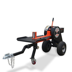 2 way wedge 34 ton kinetic fast speed automatic log splitter for tree farm