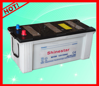 150AH Lead Acid Motor Vehicle Starting 12V Dry Battery for Cars Trucks -N150