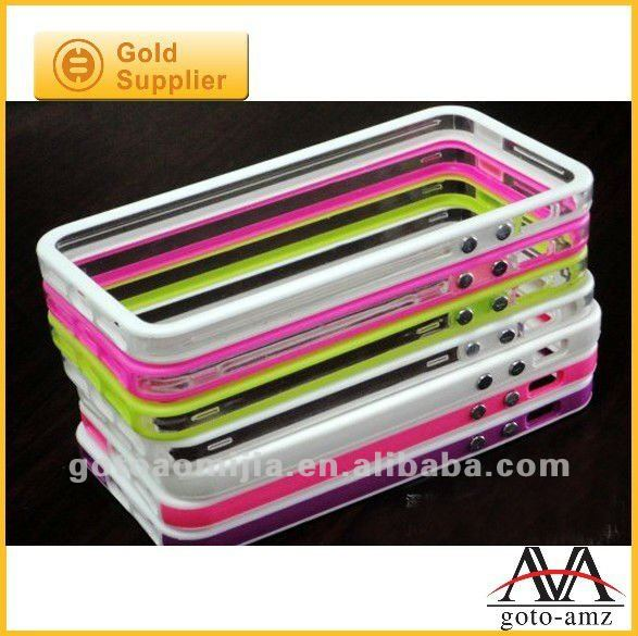 colorful tpu bumper for iphone5