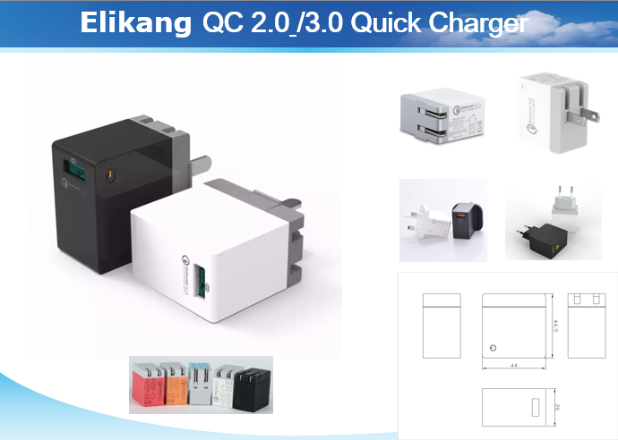 Qualcomm Technology Quick Charge 3.0 Wall Charger