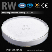 Supply high whiteness resin material zr silica fume for sale