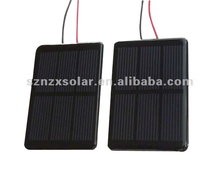 2017 Hot Selling Poly 1.5V Small Solar Panel 350mA 88x54mm with Cable for DIY