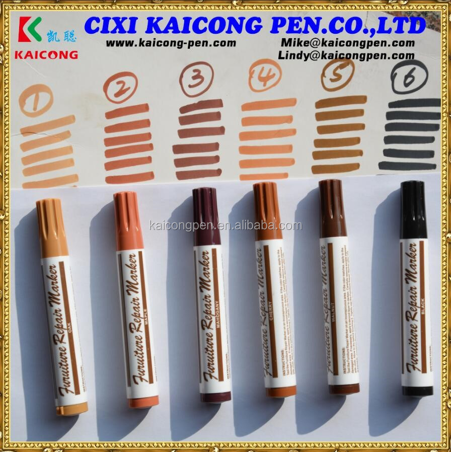 furniture touch up markers. furniture repair touch-up markers 7pcs restore wood scratches guardsman marker touch up