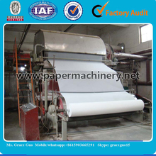 Hot Sale! Raw Material Wheat Straw Paper Machines Used to Make Toilet Paper(2880mm Model)