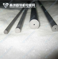 Tungsten carbide rods with single straight hole