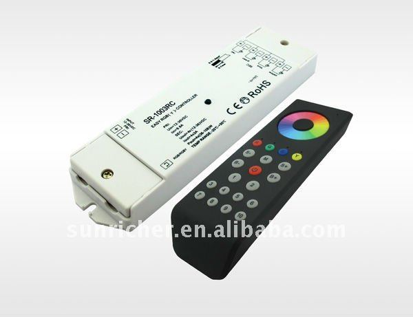 Smart LED RGB/RGBW/RGBY/RGBA Touch Wireless Remote Controller